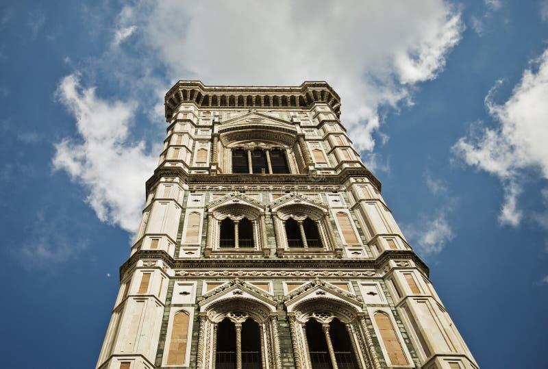 Dzwonnica Giotta w Florencji fotografia stock