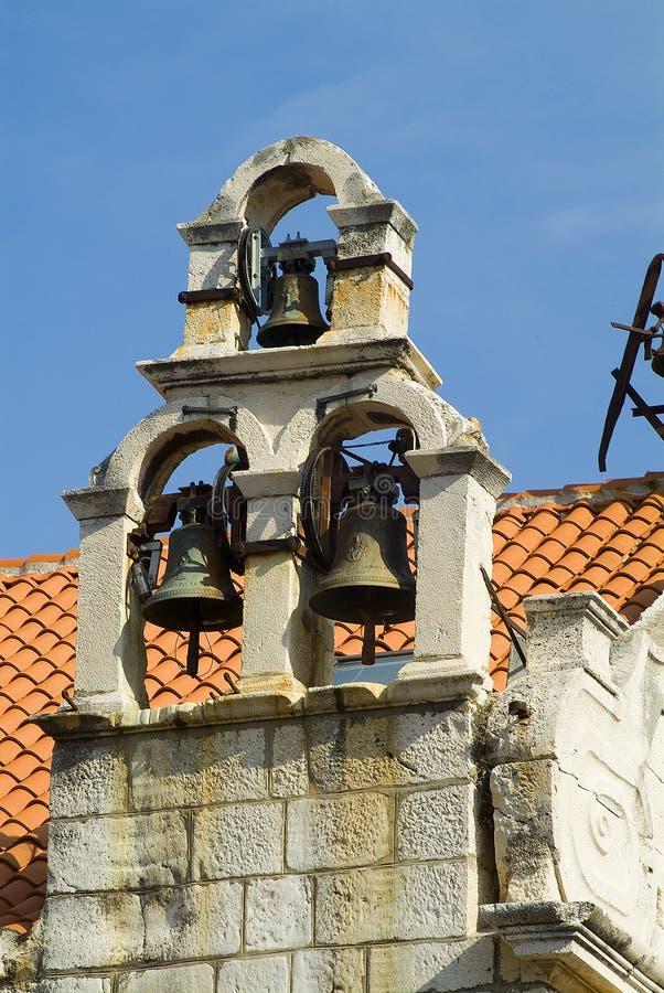 dzwonnica kamień obrazy royalty free