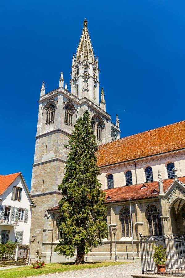 Dzwonnica Konstanz minister, Niemcy, Baden-Wurttemberg obrazy stock