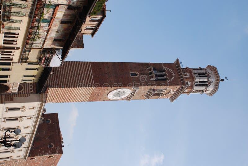 Dzwonnica w Erbe kwadracie fotografia stock