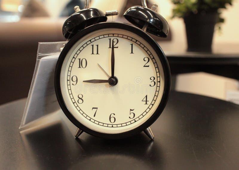 dzwonu alarmowy retro zegarowy obraz stock