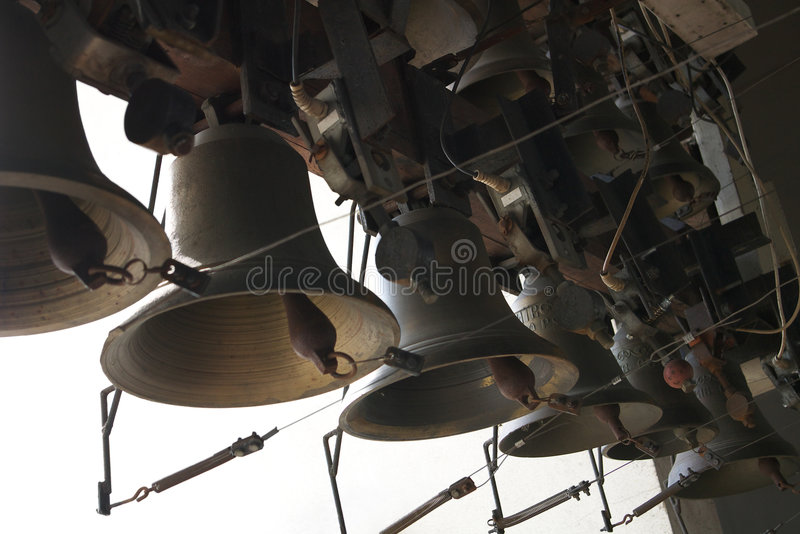 dzwony kościelne zdjęcia royalty free