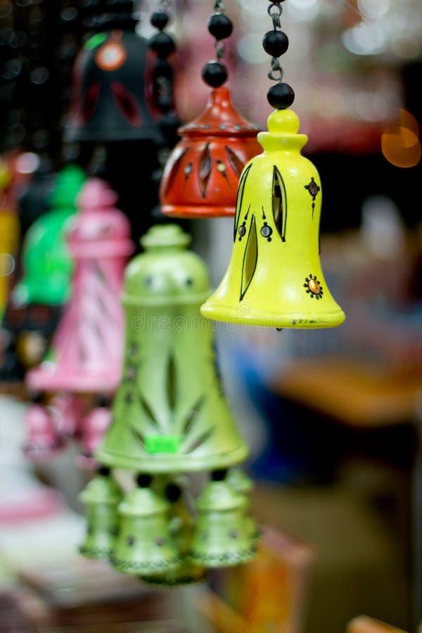 dzwony kolorowi fotografia stock