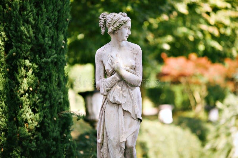Żeńska statua zdjęcie royalty free