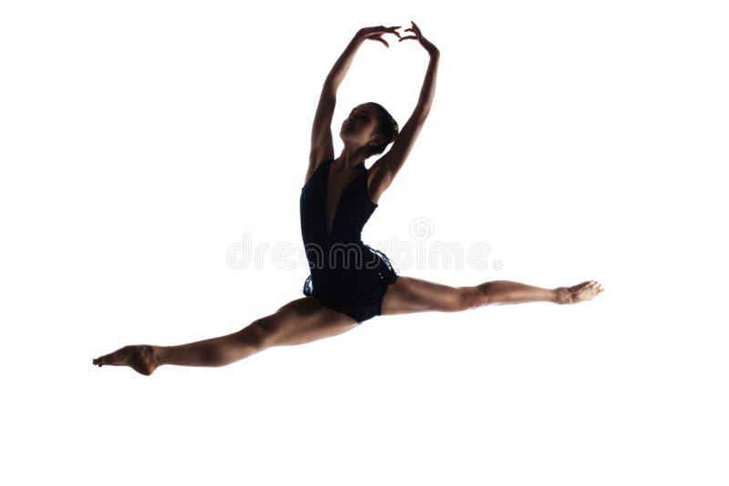 Żeński baletniczy tancerz fotografia royalty free