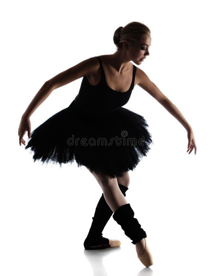Żeński baletniczy tancerz obraz royalty free