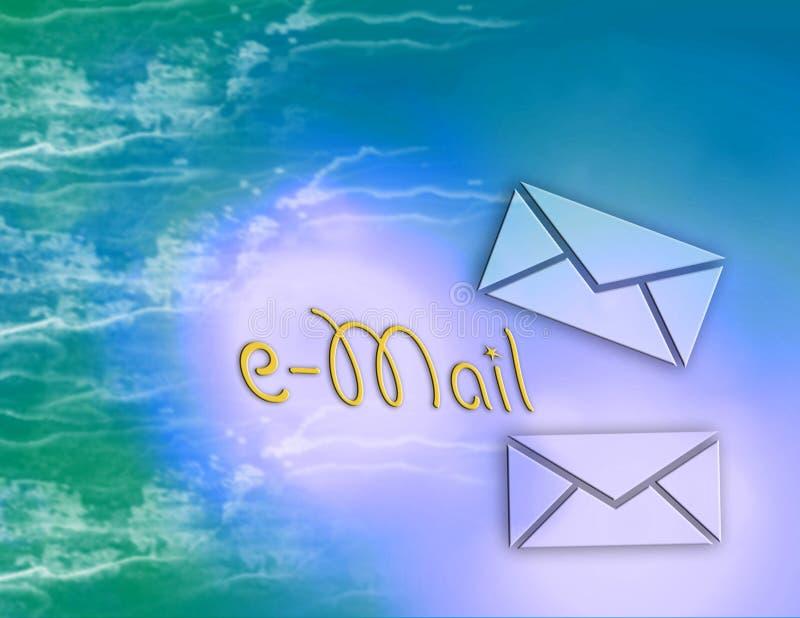 e互联网邮件 皇族释放例证