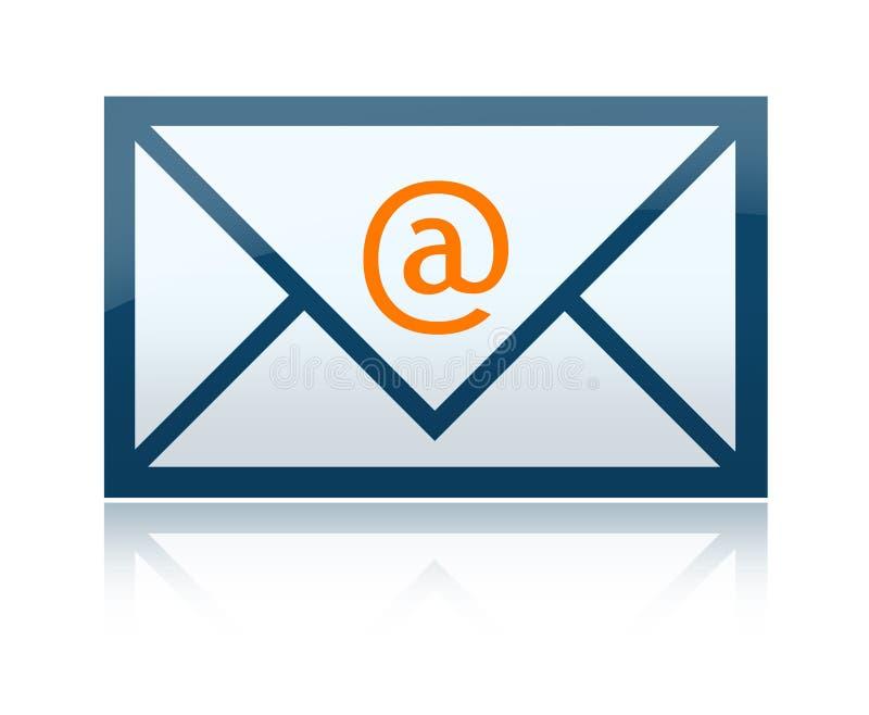 e信函邮件 库存例证
