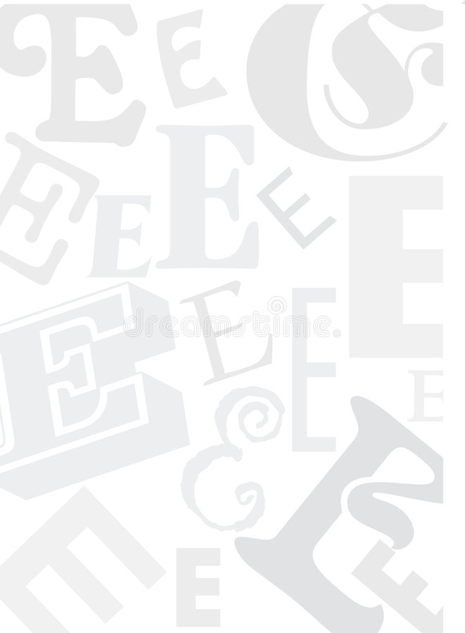 e框架信函 向量例证