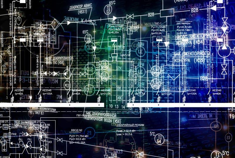 E连接工程学技术 免版税图库摄影