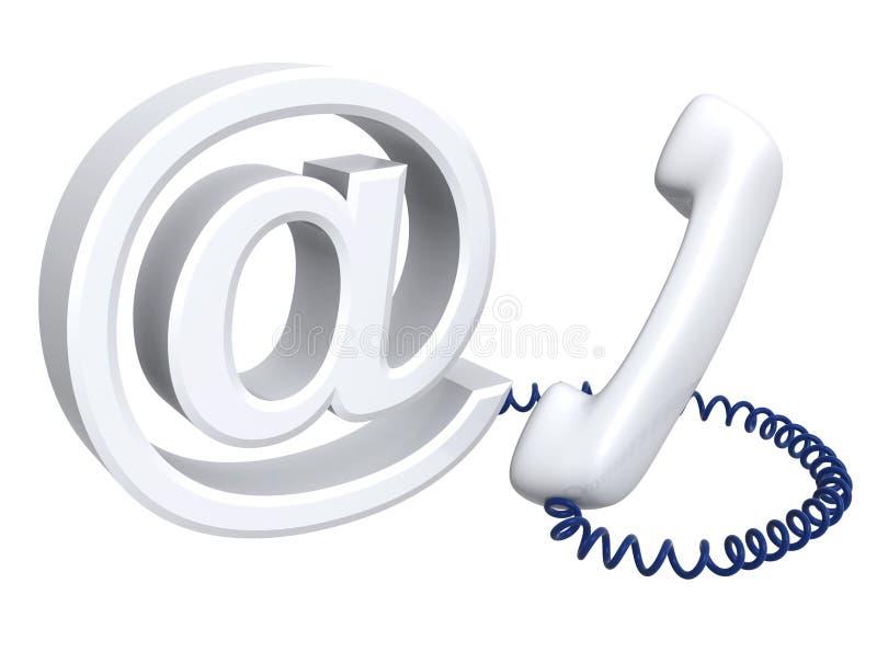 e邮件 库存例证