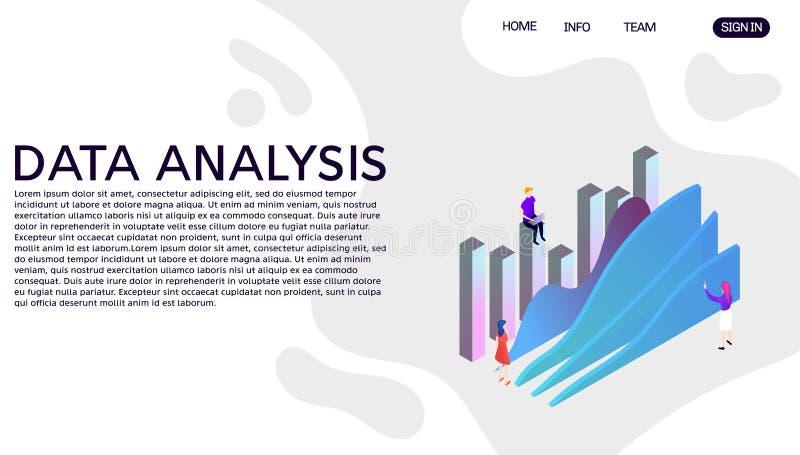 E Προσγειωμένος πρότυπο σελίδων ιστοχώρου απεικόνιση αποθεμάτων