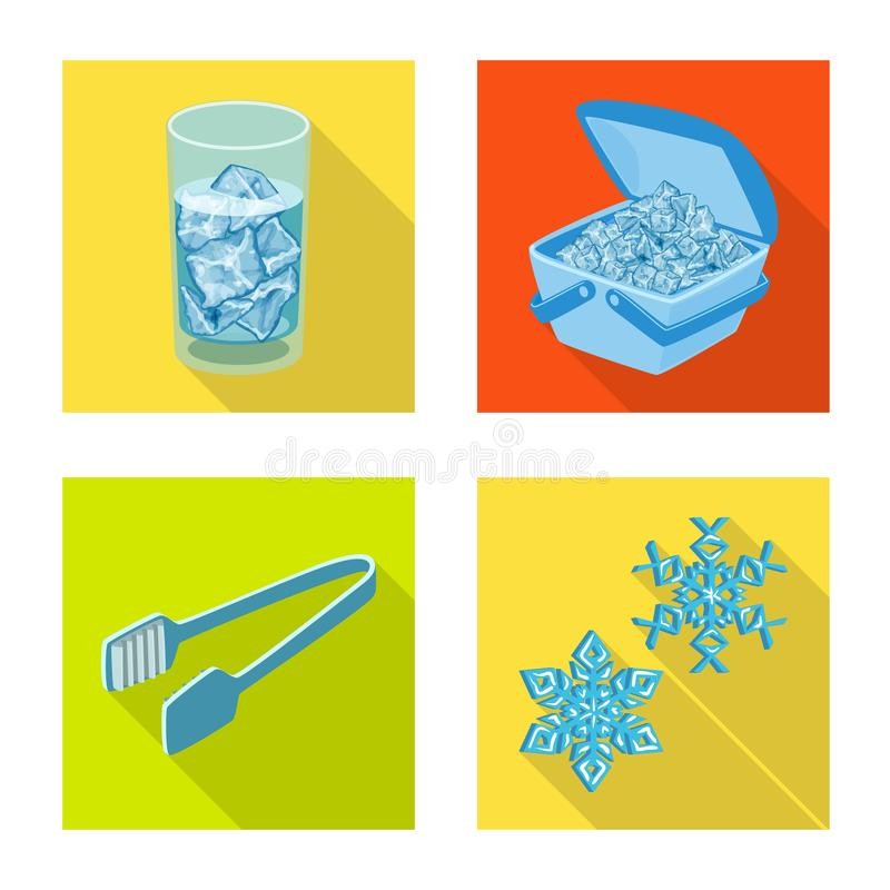 E Συλλογή της σύστασης και του διαφανούς συμβόλου αποθεμάτων για τον Ιστό διανυσματική απεικόνιση
