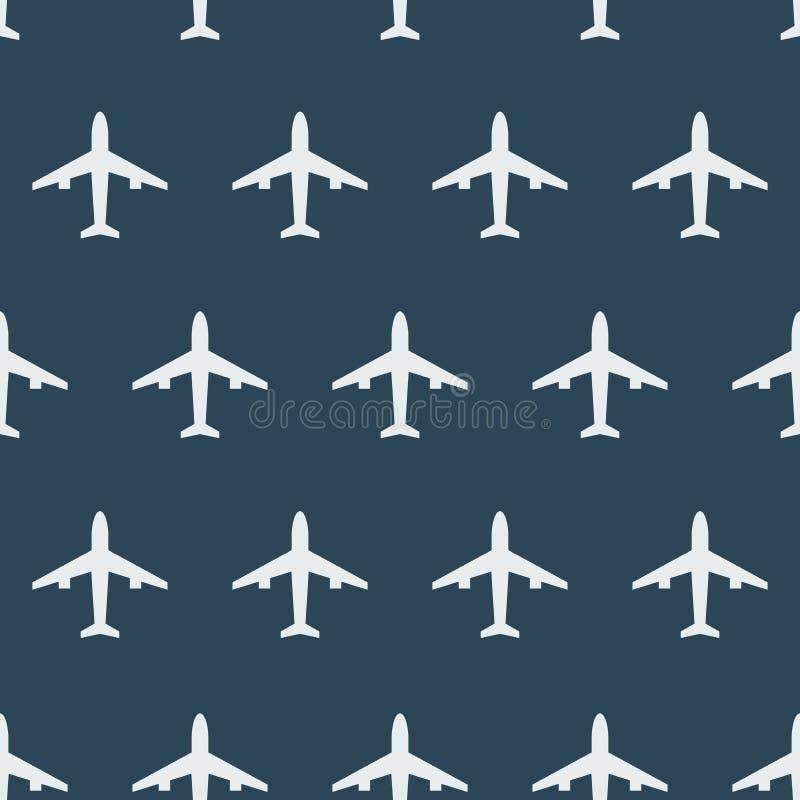 E Σχέδιο με τα αεροπλάνα ελεύθερη απεικόνιση δικαιώματος