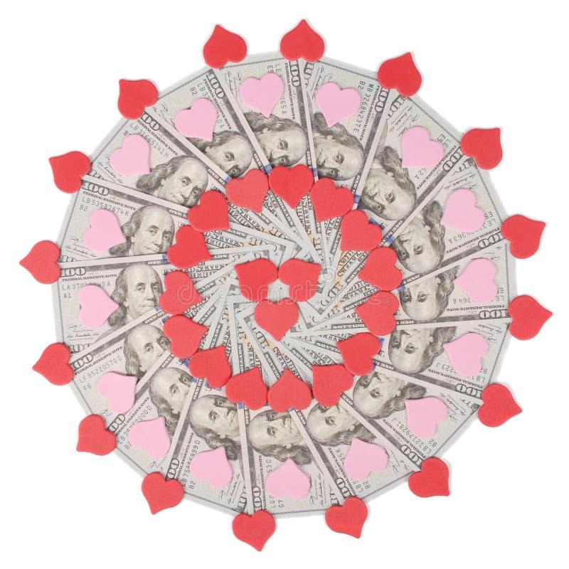 E Абстрактный круг мандалы повторения картины растра предпосылки денег стоковое фото