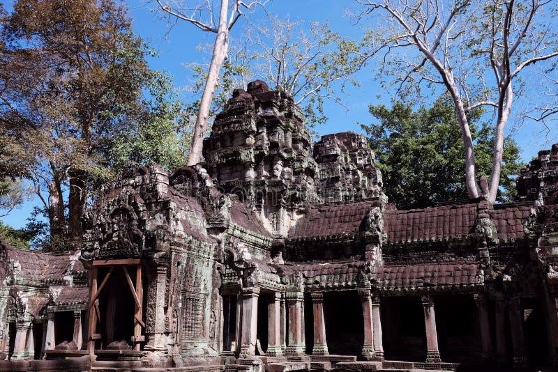 E Архитектурноакустическое наследие империи кхмера r стоковая фотография rf