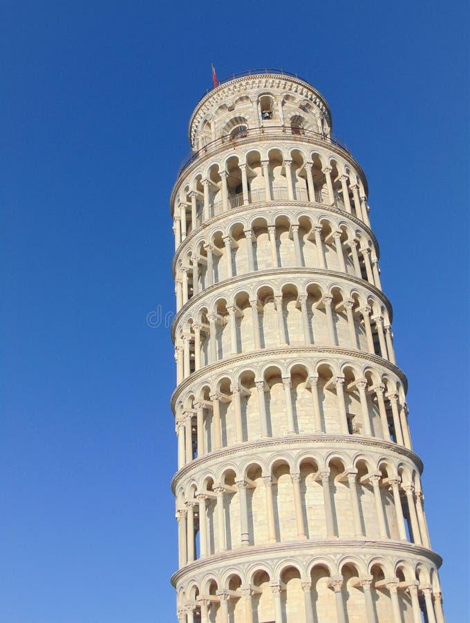 E Башня склонности Пизы стоковые изображения