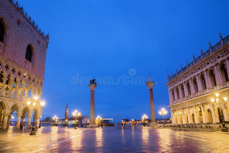 E Квадрат Сан Marco в Венеции стоковые изображения rf
