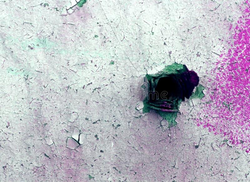 E Текстура старого дерева, доска с краской, годом сбора винограда стоковые фото