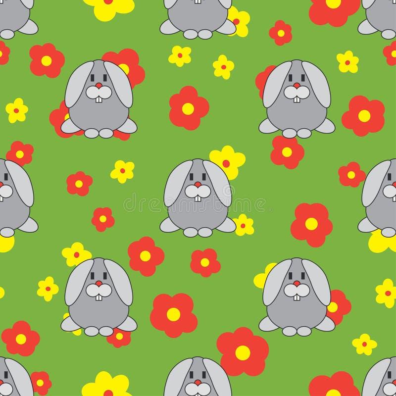 E Тип шаржа Doodle детей Цветы иллюстрация штока