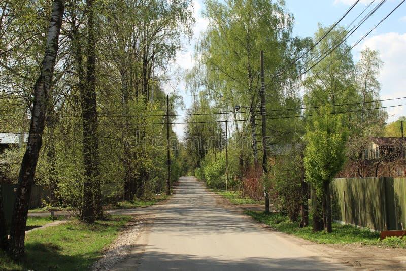 E E Улица Nakhimov стоковое изображение