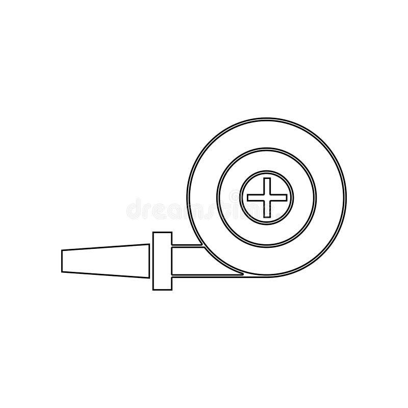 E Элемент пожарного для мобильных концепции и значка приложений сети r иллюстрация штока