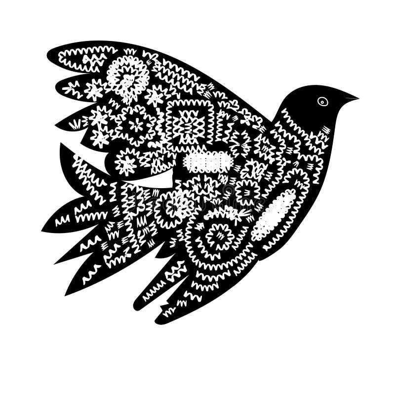 E Этнический handmade орнамент для вашего дизайна стоковые изображения rf