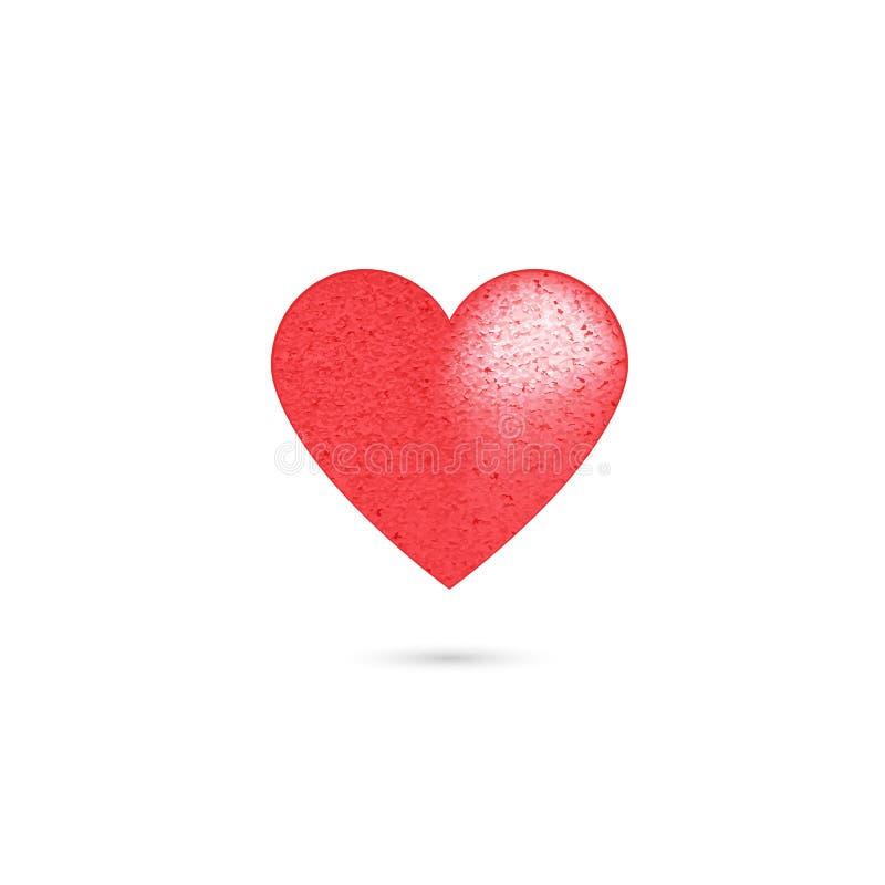 E 与抽象的传染媒介例证被构造的 情人节-传染媒介 皇族释放例证