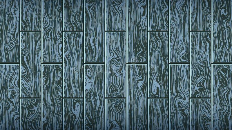 E 伍迪橡木纹理 木条地板,层压制品的地板,家具的形式 向量例证