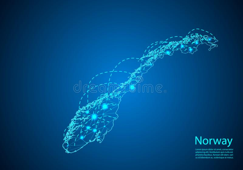 E 全球性通信和事务的概念 r 库存例证