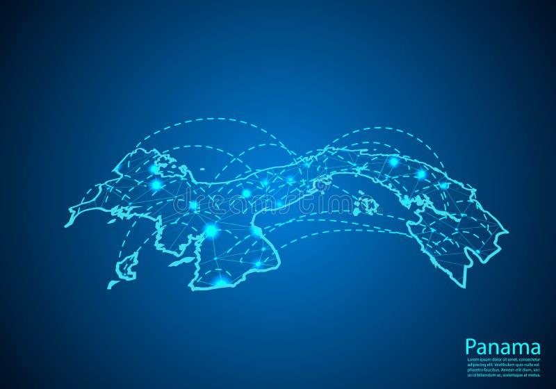 E 全球性通信和事务的概念 r 皇族释放例证