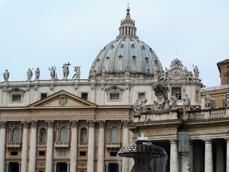 E 城市意大利梵蒂冈 库存照片