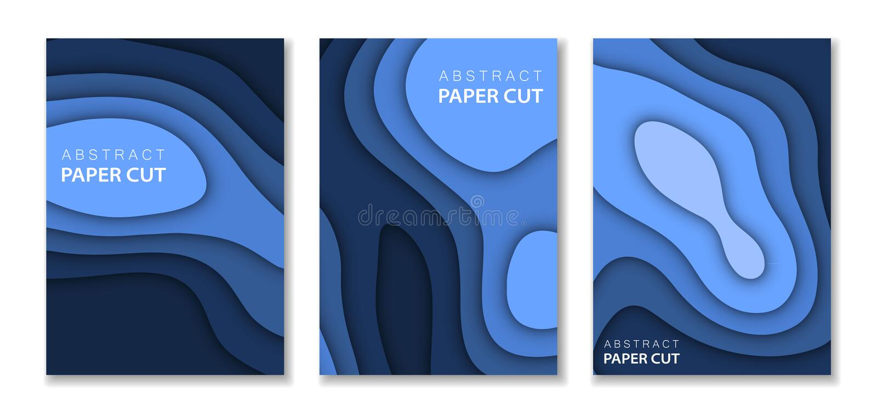 E 对比颜色蓝色 传染媒介横幅介绍的设计版面,飞行物, 向量例证
