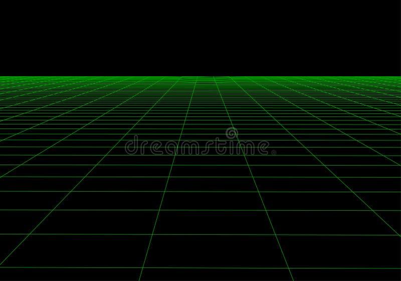 E 抽象滤网背景 多角形山 80s减速火箭的科学幻想小说背景 r 皇族释放例证