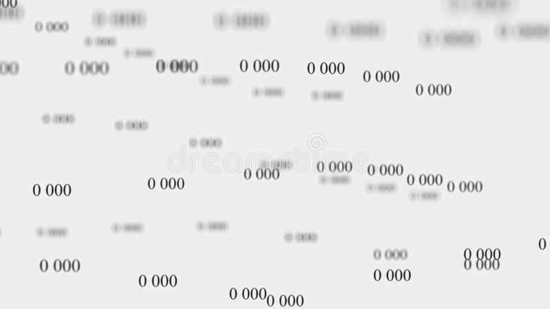 E 数字背景矩阵 3d?? r ?? r 向量例证
