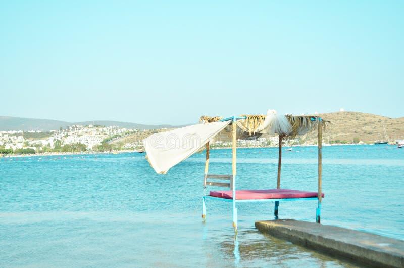 E 旅游业的夏天休假和假期概念 库存图片
