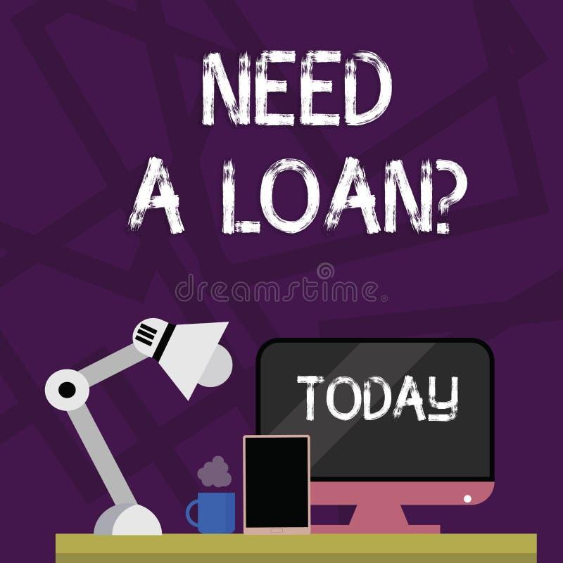 E 概念从银行经常被借用的意思金额 库存例证