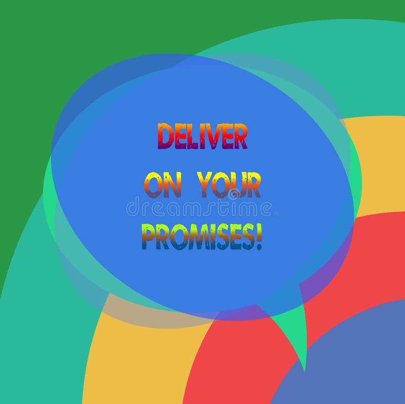 E 概念性照片做什么您许诺了承诺发行空白讲话 向量例证