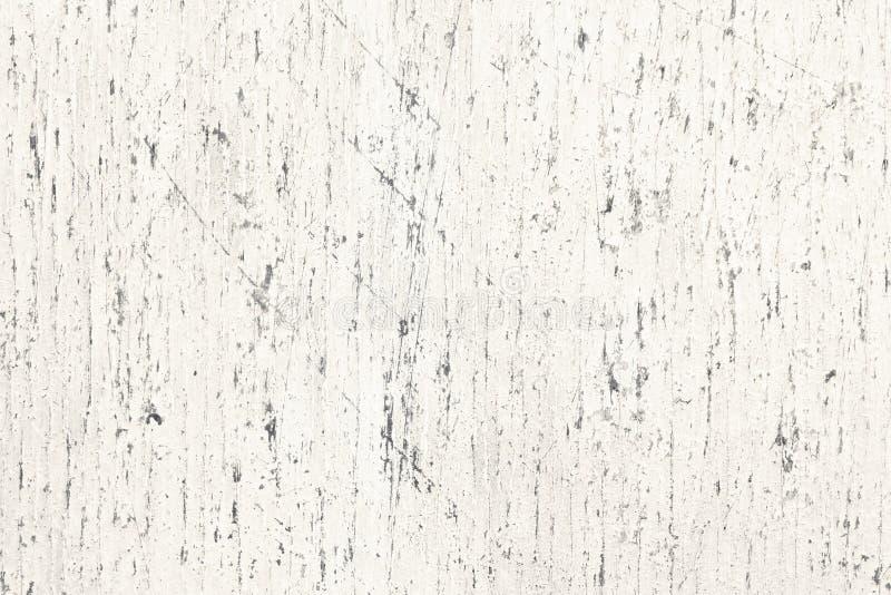 E 浅灰色的被绘的老木板表面 老葡萄酒土气自然背景 免版税图库摄影