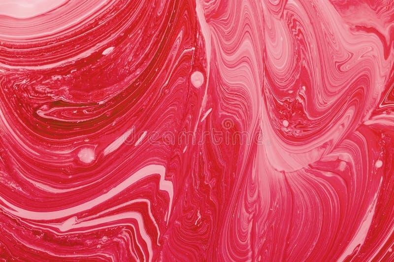 E 液体丙烯酸酯的纹理 液体颜色背景 o 库存图片