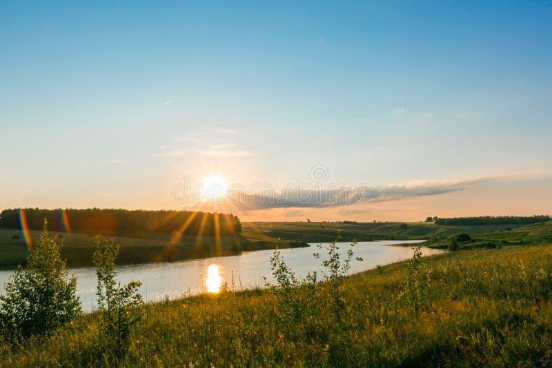 E 美好的平安的风景 库存图片