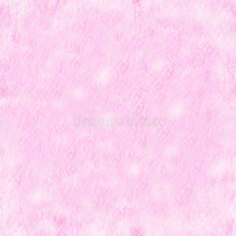 E 脸红颜色 陶瓷模式 无缝的纹理 免版税库存照片