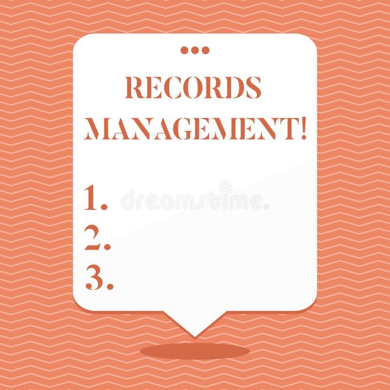 E 被提供纪录的企业照片陈列的管理和 库存例证
