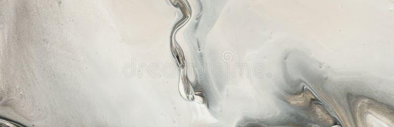 E 黑,灰色和白色创造性的颜色 r 免版税库存照片