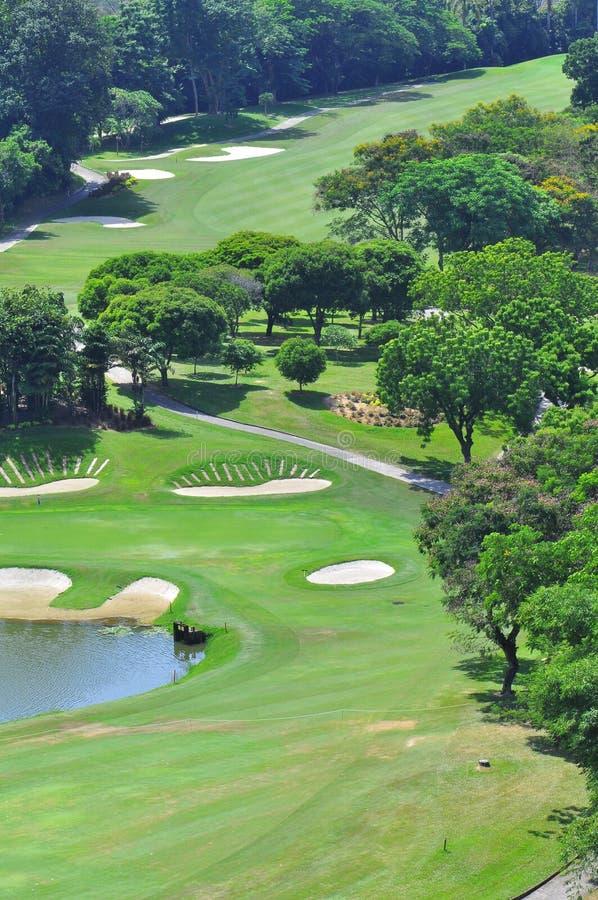 Поле для гольфа в Пенанге стоковое фото