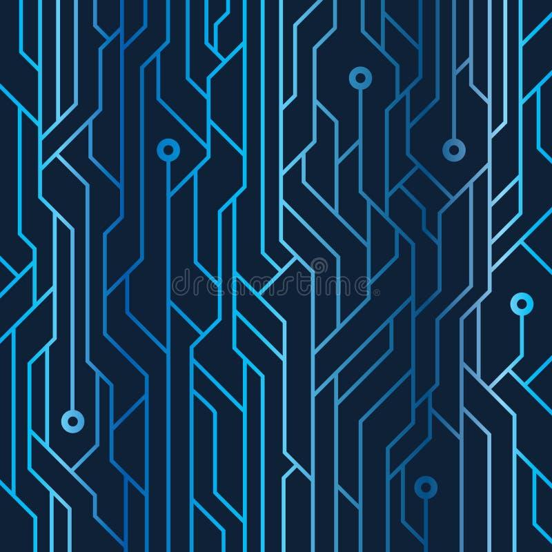 Фон иллюстрации 'Изобразительное изображение линии электропередач' иллюстрация штока