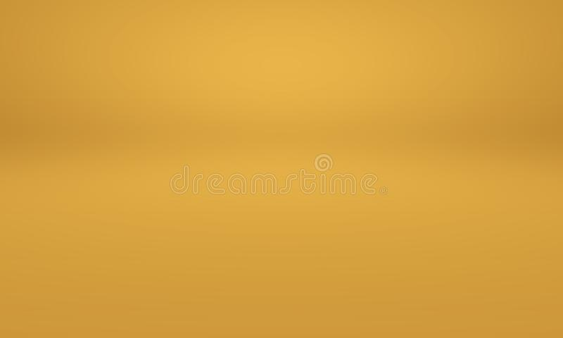 Abstract Luxury Gold Yellow Gradient Studio Wall, Well Use ...