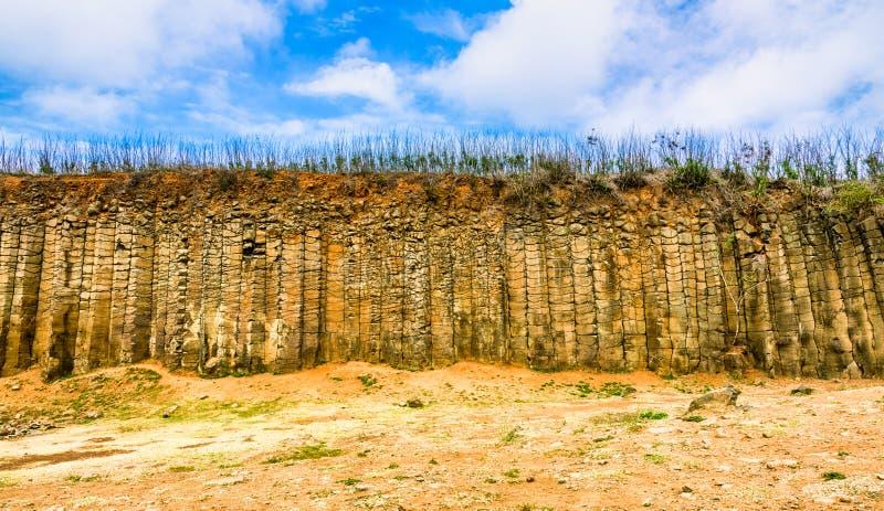 Дагуойе-Колумнар-Базальт, Пингху стоковые фотографии rf