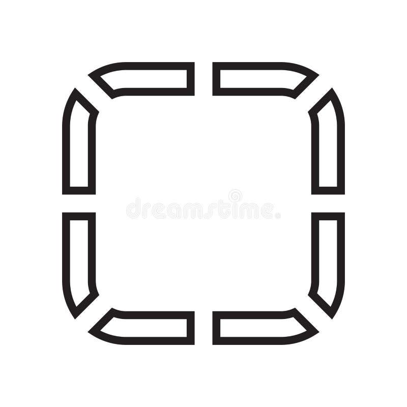 Signe Et Symbole De Vecteur D'icône De Tableau De Bord D'isolement Sur Le Fond Blanc, Concept De ...