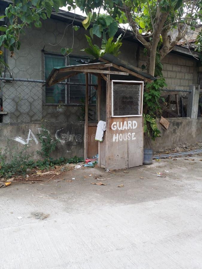 Σπίτι φρουράς στοκ εικόνες